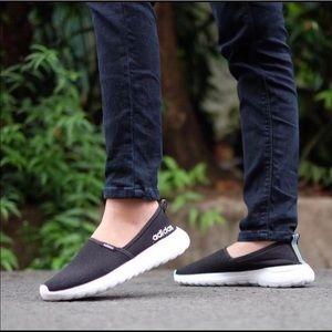 Adidas Neo Lite Racer Slip-On Core sneaker Sz 9